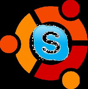 Skype_Ubuntu logo