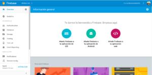 Firebase proiektua